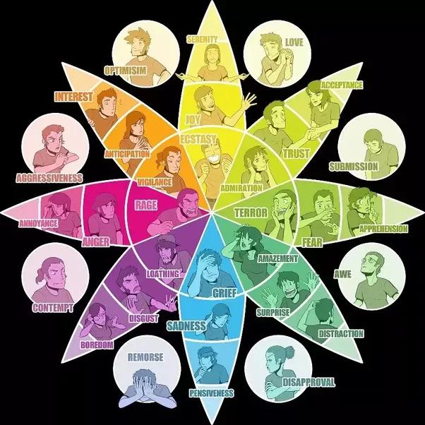 Wheel of emotion # 2